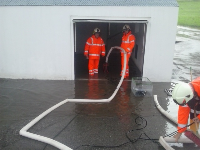 Einsatz 24.07.2014 - Hochwasser KF (2)